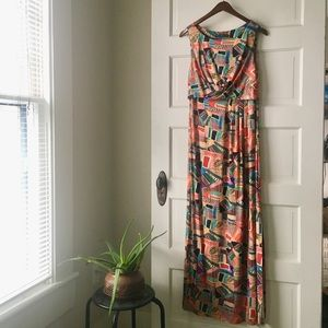 Peruvian Connection Maxi Dress